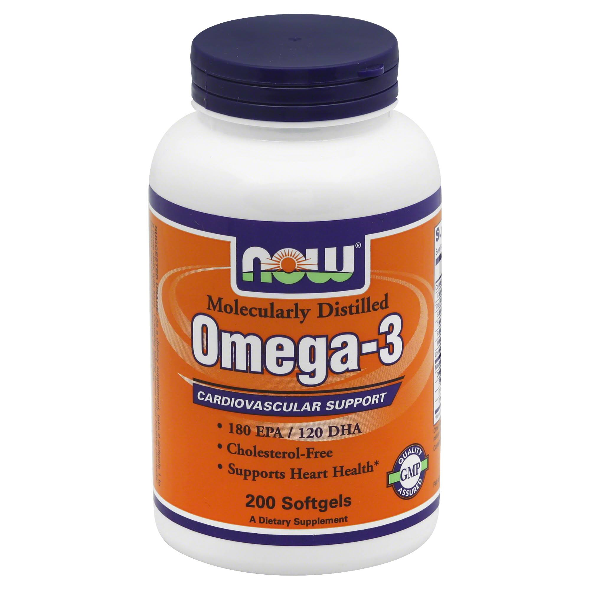 Omega 3 Cardiovascular Support - 200 Softgels