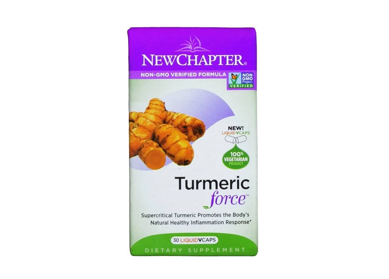 New Chapter Turmeric Force - 72 Softgels