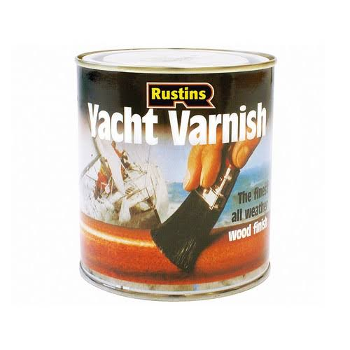 Rustin Yacht Varnish - Satin, 500ml