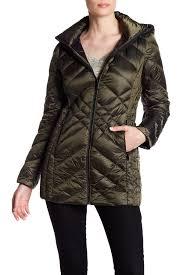 bcbgeneration missy mid zip front padded jacket nordstrom rack