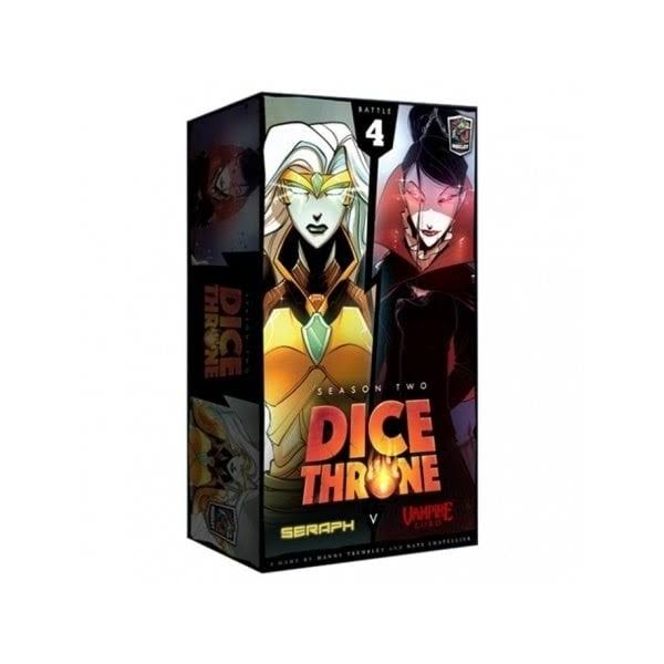 Dice Throne Season Two: Seraph Vs Vampire Lord Card Game