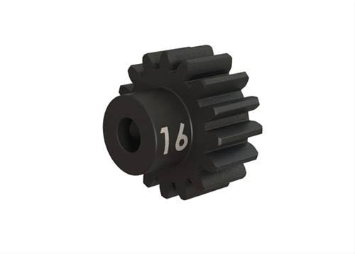 Traxxas 3946X Heavy Duty Hardened Steel RC Vehicle Pinion Gear - 16 Teeth