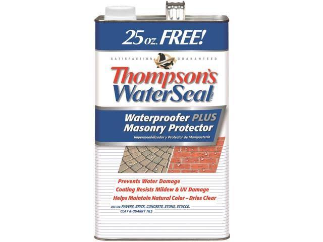 Thompsons Waterseal 23111 WaterSeal® Waterproofer Plus Masonry Protector - 1.2gal