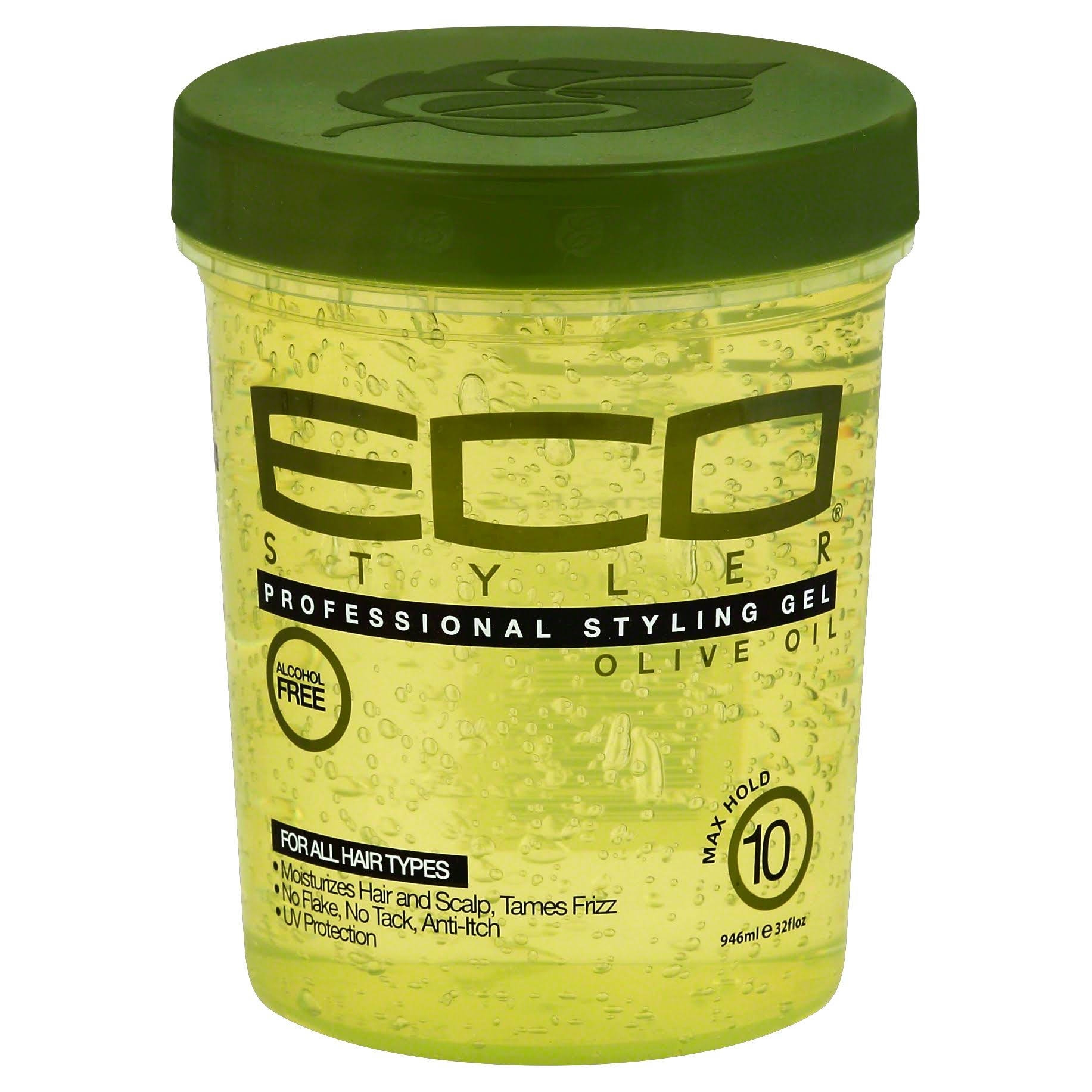 Eco Style Professional Olive Oil Styling Gel - 946ml