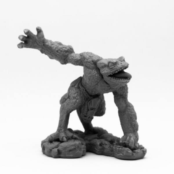 Reaper Miniatures Bones Black: Chaos Toad Savage