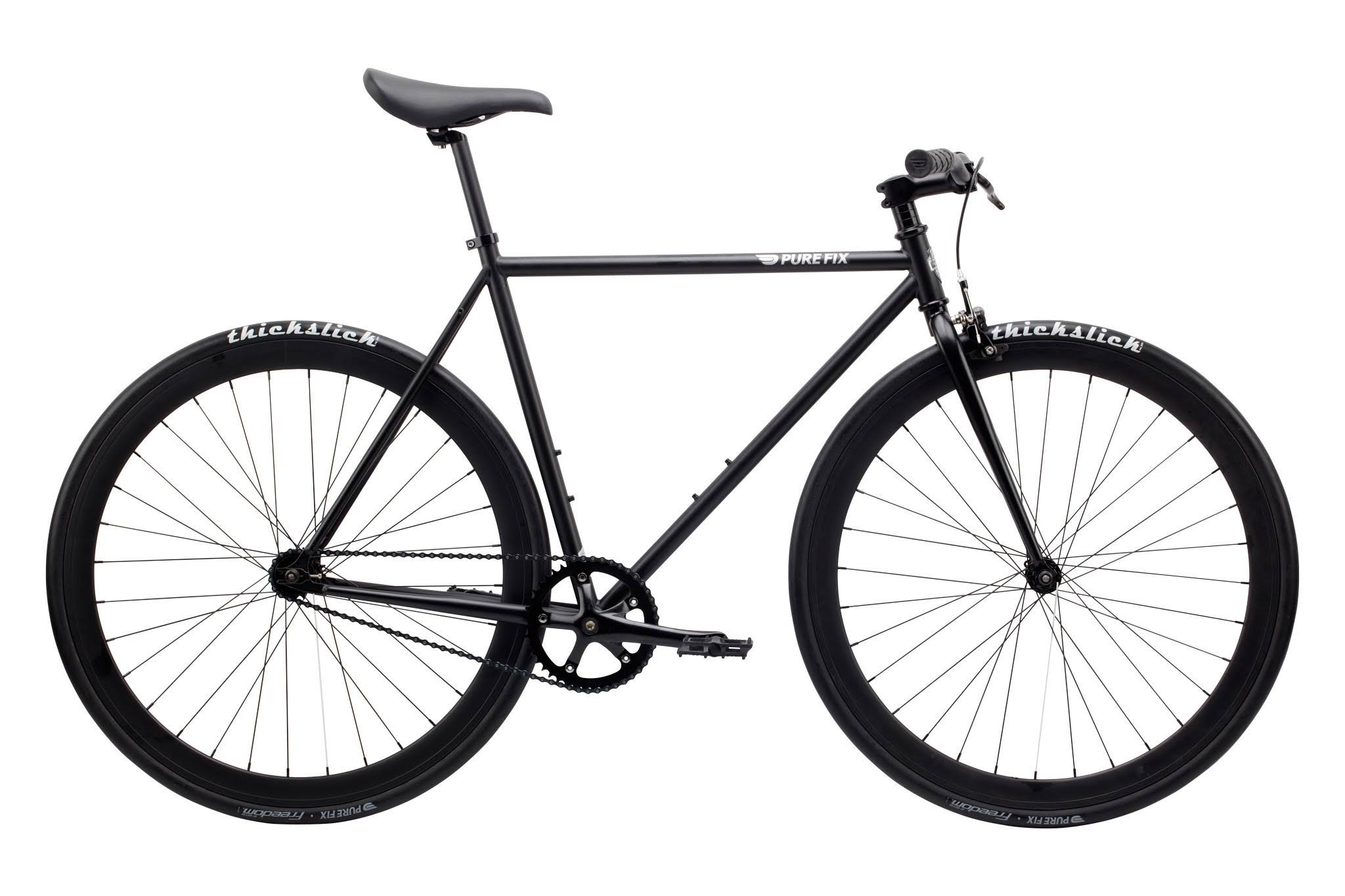 Pure Fix Original Fixed Gear Single Speed Fixie Bike - Matte Black