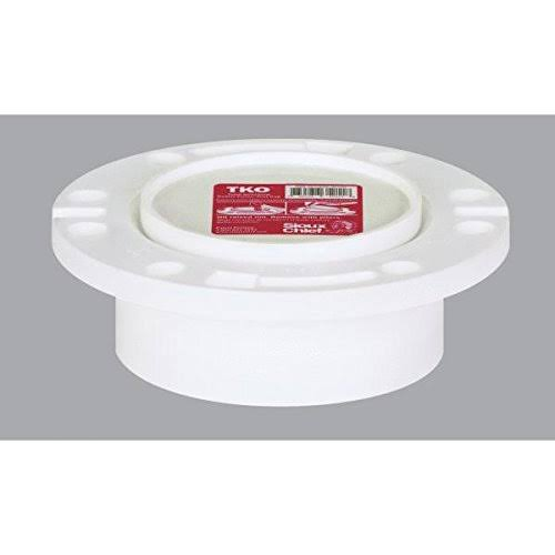 Genova Products 75140 Closet Flange - with P.T., 4""