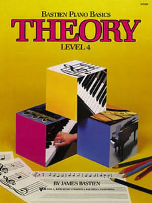 Bastien Piano Basics Theory Level 4 - James Bastien