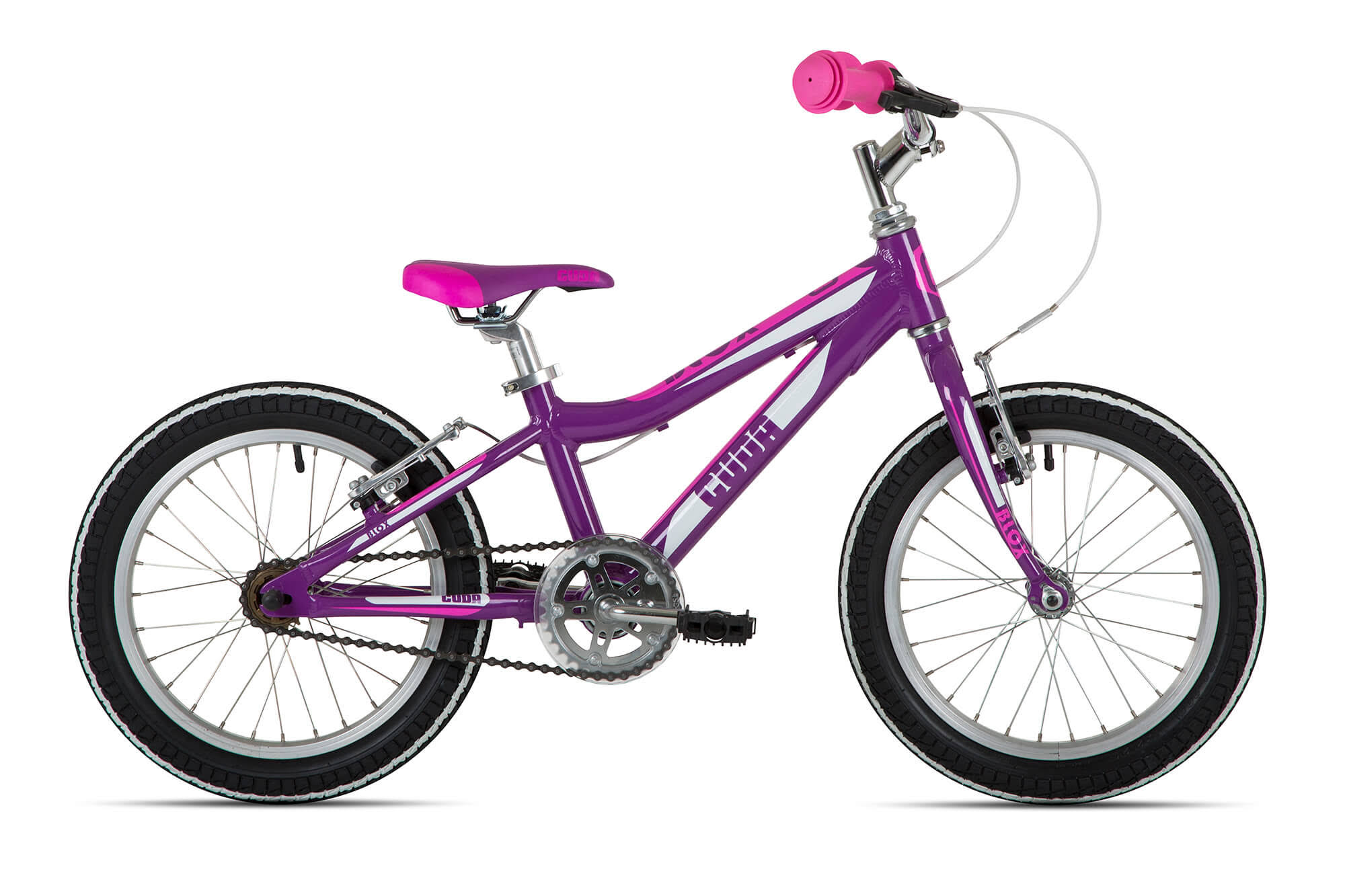Cuda Blox Pavement Bike Purple 16""