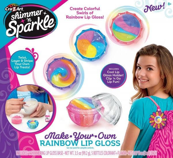 Cra Z Art Shimmer and Sparkle Rainbow Lip Gloss