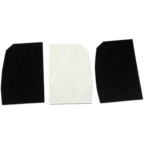 Riccar Charcoal Filter for 8900 Series: 8900, 8905, 8920 - for Models without On-Board Tools, RCF89-2 (2 Filters per Package)