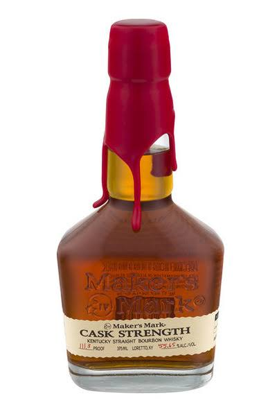 Maker's Mark Cask Strength Kentucky Straight bourbon 375 mL (Half Bottle)