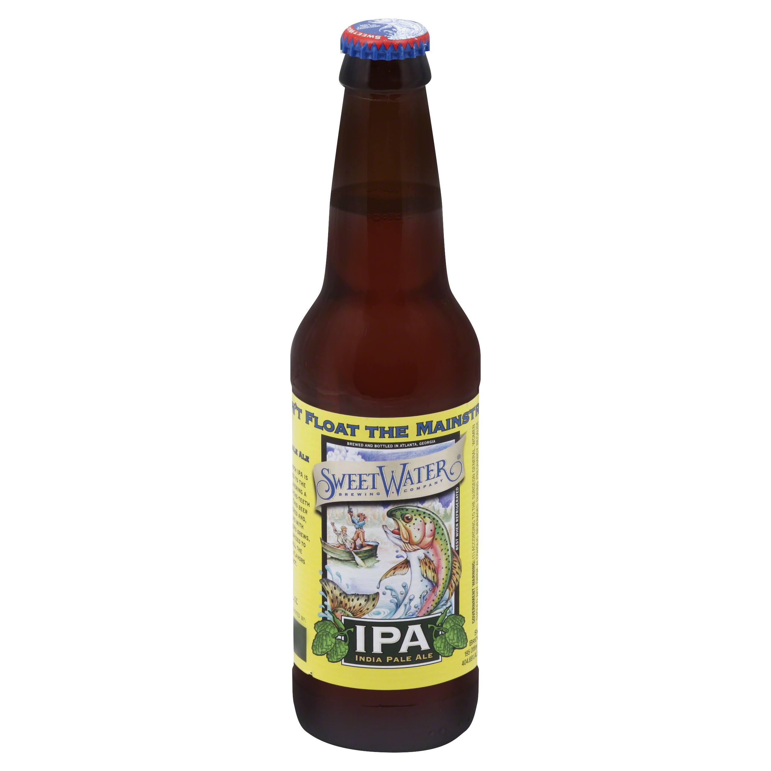 SweetWater IPA, India Pale Ale - 12 fl oz