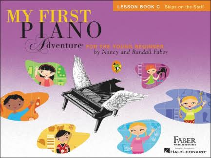 My First Piano Adventure: Lesson Book C - Nancy and Randall Faber