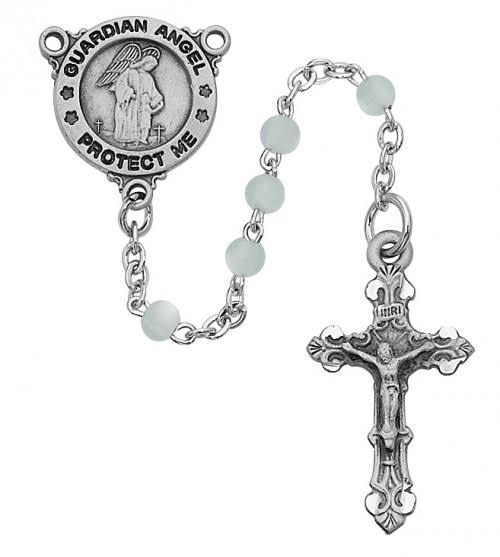 Blue Guardian Angel Youth Rosary