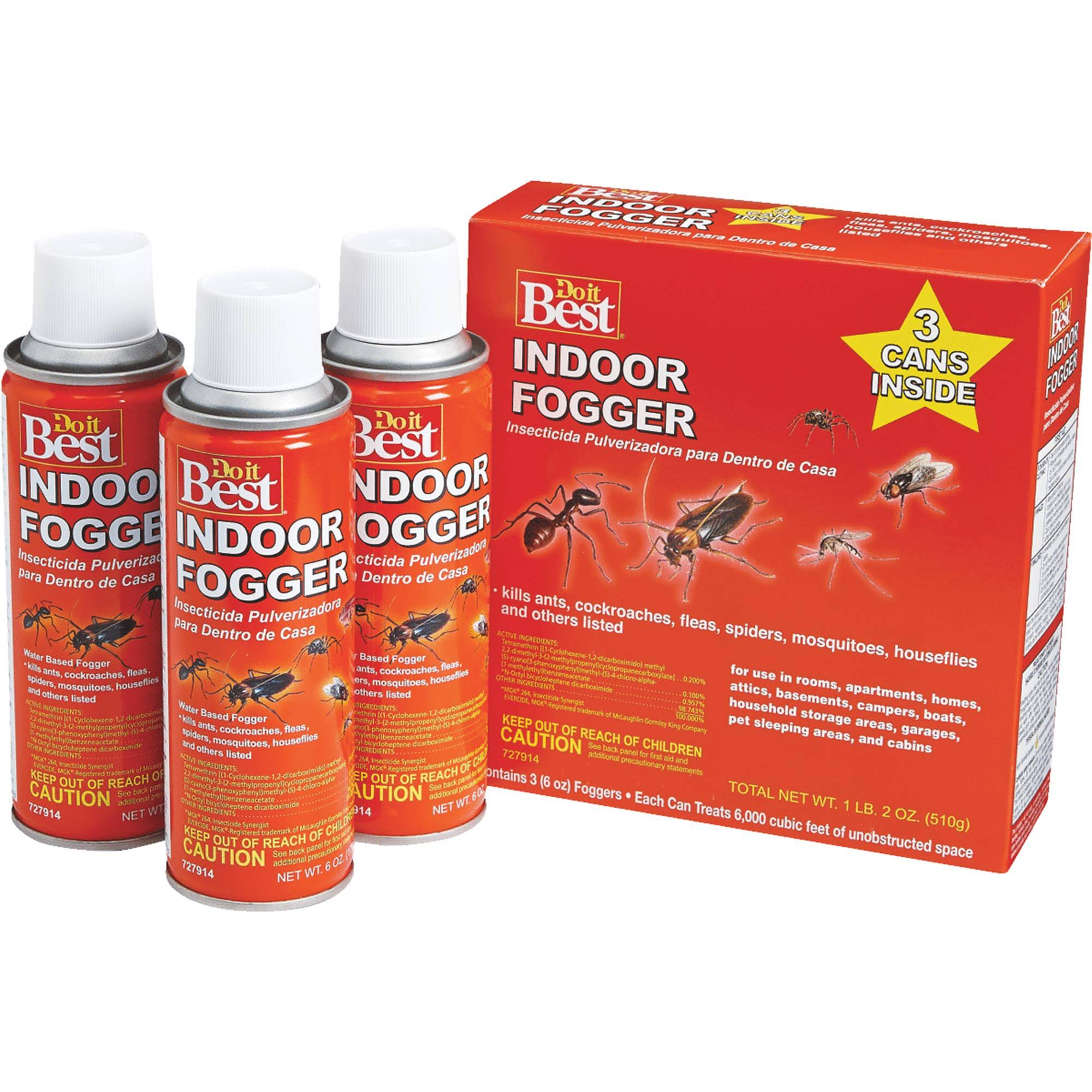 Do It Best Indoor Fogger - 3pk