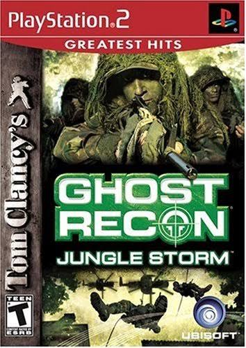 Tom Clancy's Ghost Recon: Jungle Storm - PlayStation 2