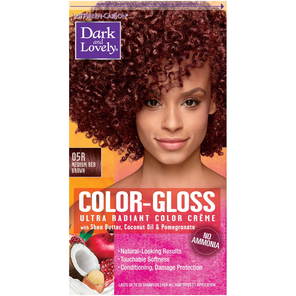 Dark and Lovely Color-gloss Ultra Radiant Color Creme - 05r Medium Red