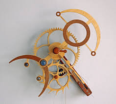 wooden clock plans from clayton boyer cnccookbook be a better