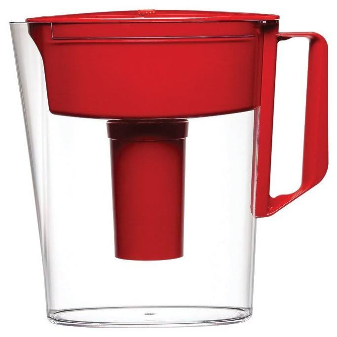 Brita 5 Cup Soho Water Filter Pitcher - Red