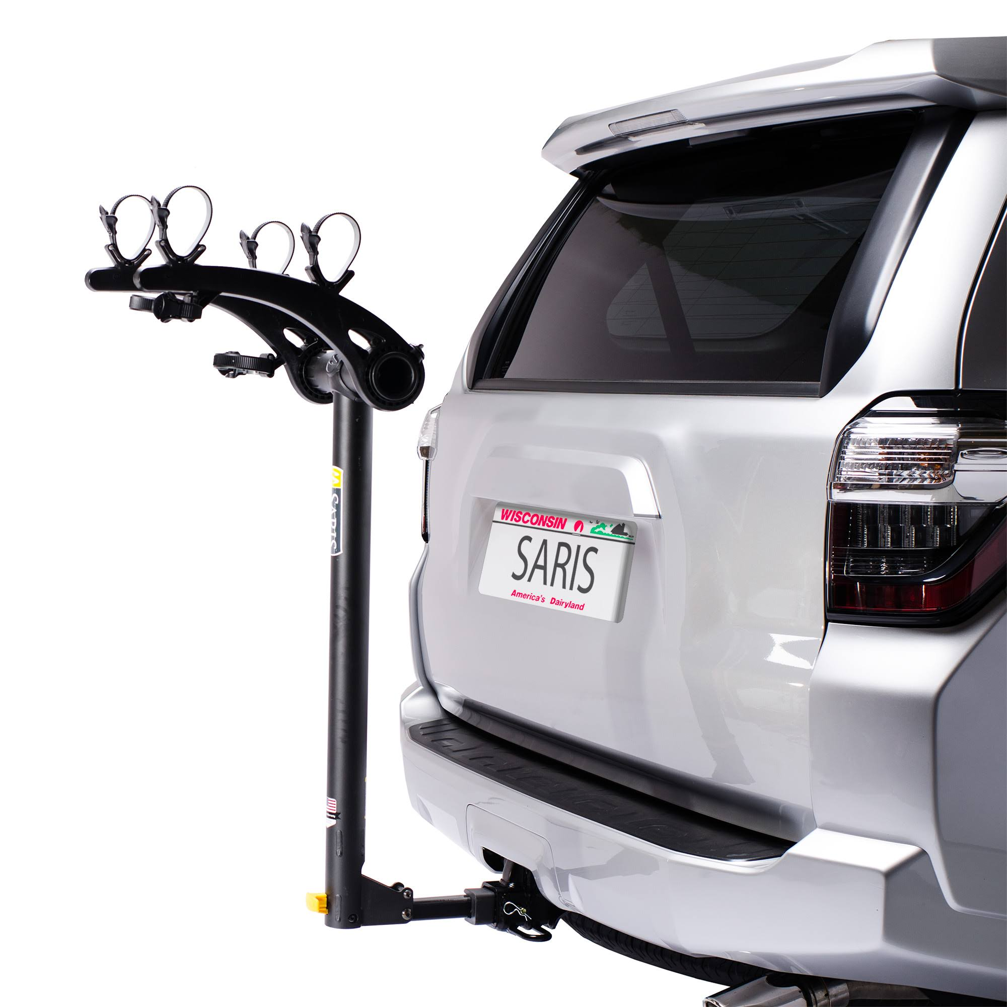 Saris Bones Hitch Mount 2 Bike Car Rack - Black