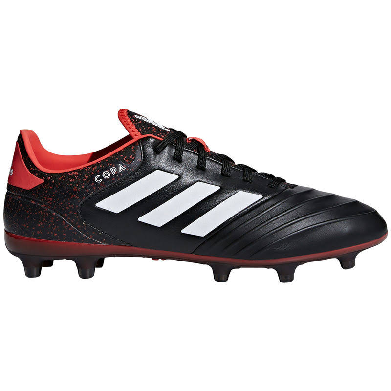 Adidas Copa 18.2 FG Soccer Cleats - Black/Red/White