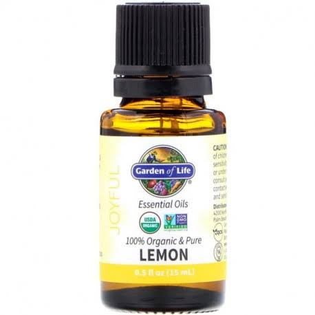 Garden of Life Essential Oil Lemon 0.5 fl oz