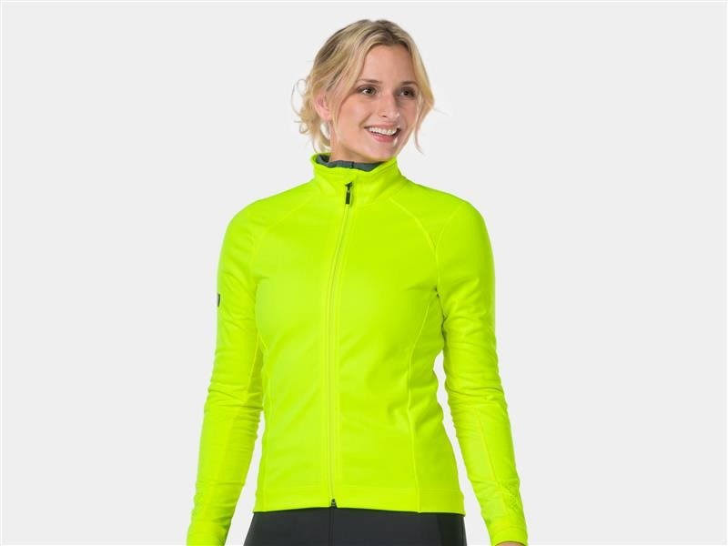 Bontrager Velocis Women's Softshell Cycling Jacket Radioactive Ye