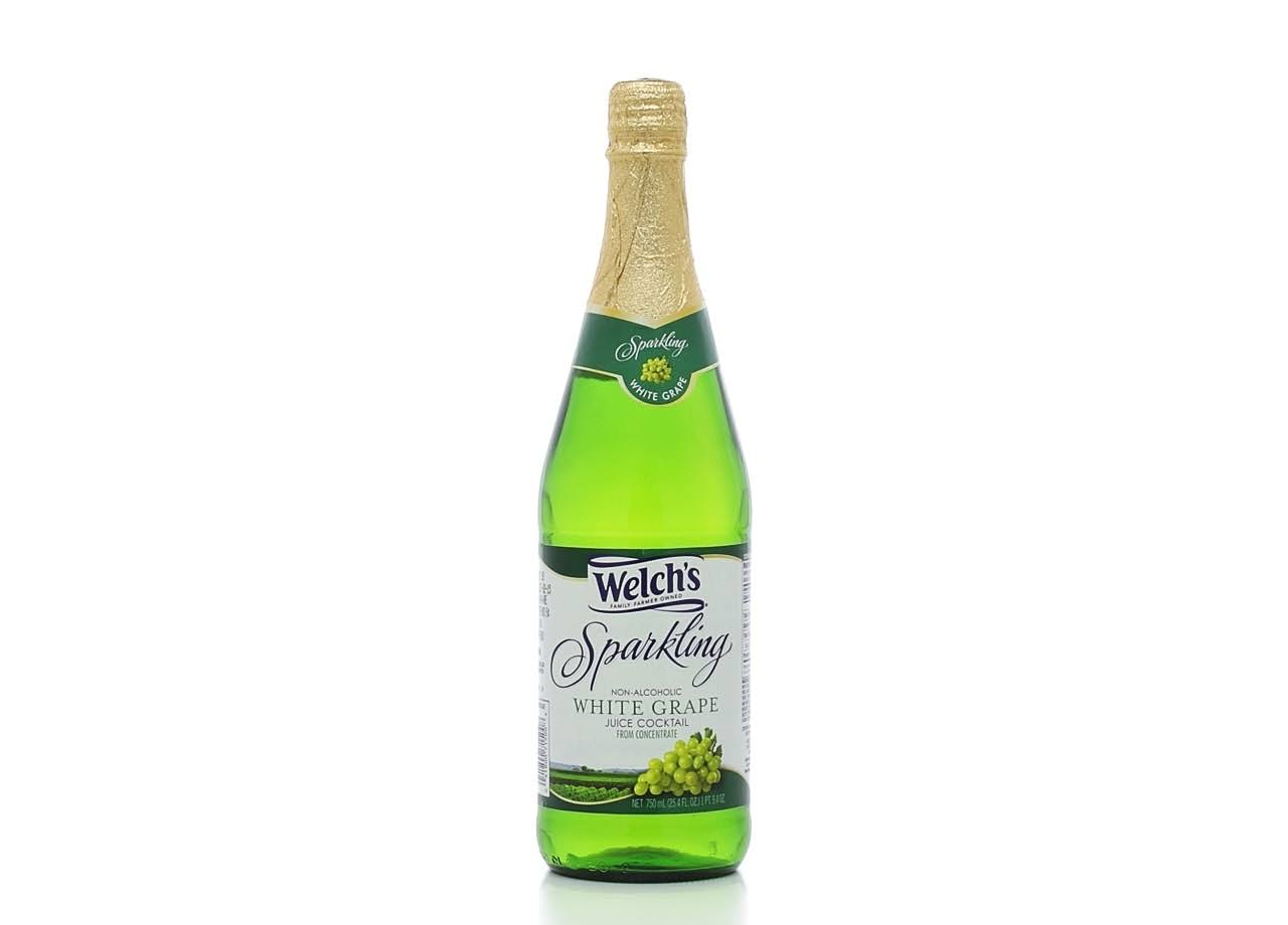 Welch's Sparkling Juice Cocktail - White Grape, 25.4oz