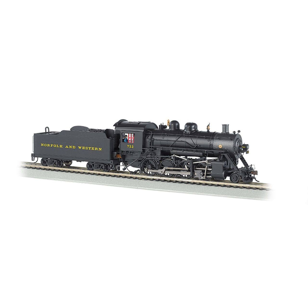 Bachmann Industries N 2-8-0 w/DCC & Sound Value, N&W