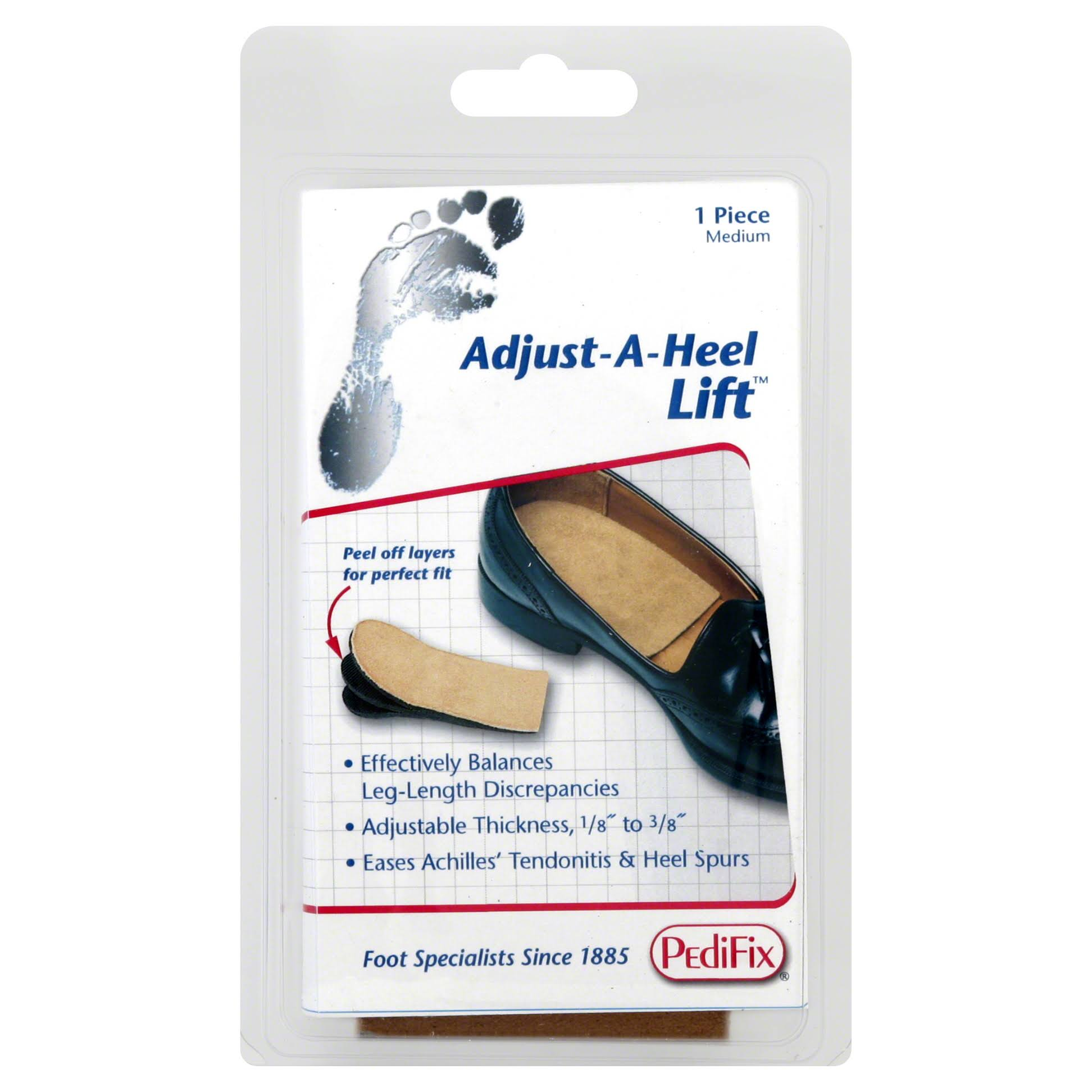 Pedifix Peel Away Adjustable Heel Lift - Medium