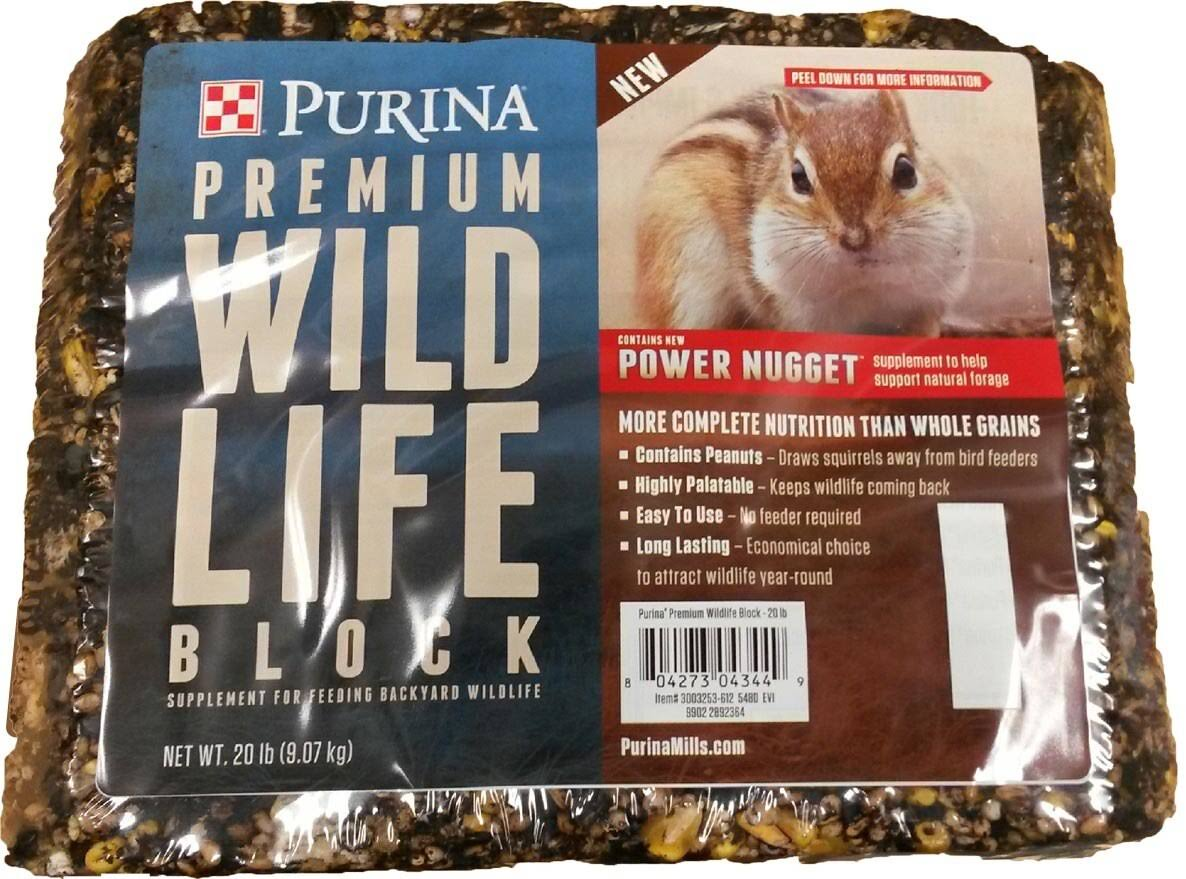 Purina Premium Wildlife Block Power Nugget Supplement - 20lbs