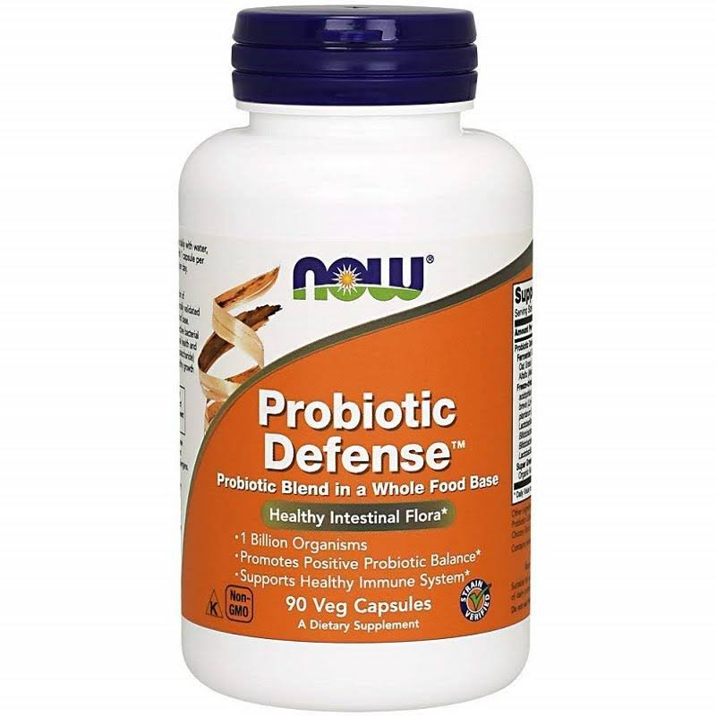 Now Foods Probiotic Defense Veg-Capsules - 90 Capsules