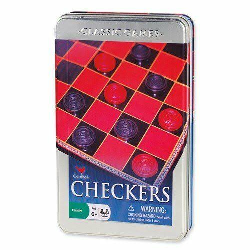 Checkers Chess and Tic Tac Toe Board Game