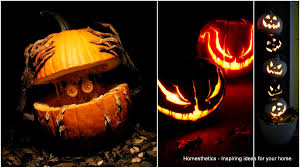 Vampire Teeth Pumpkin Stencils by 111 World S Coolest Pumpkin Designs To Carve This Falll Homesthetics