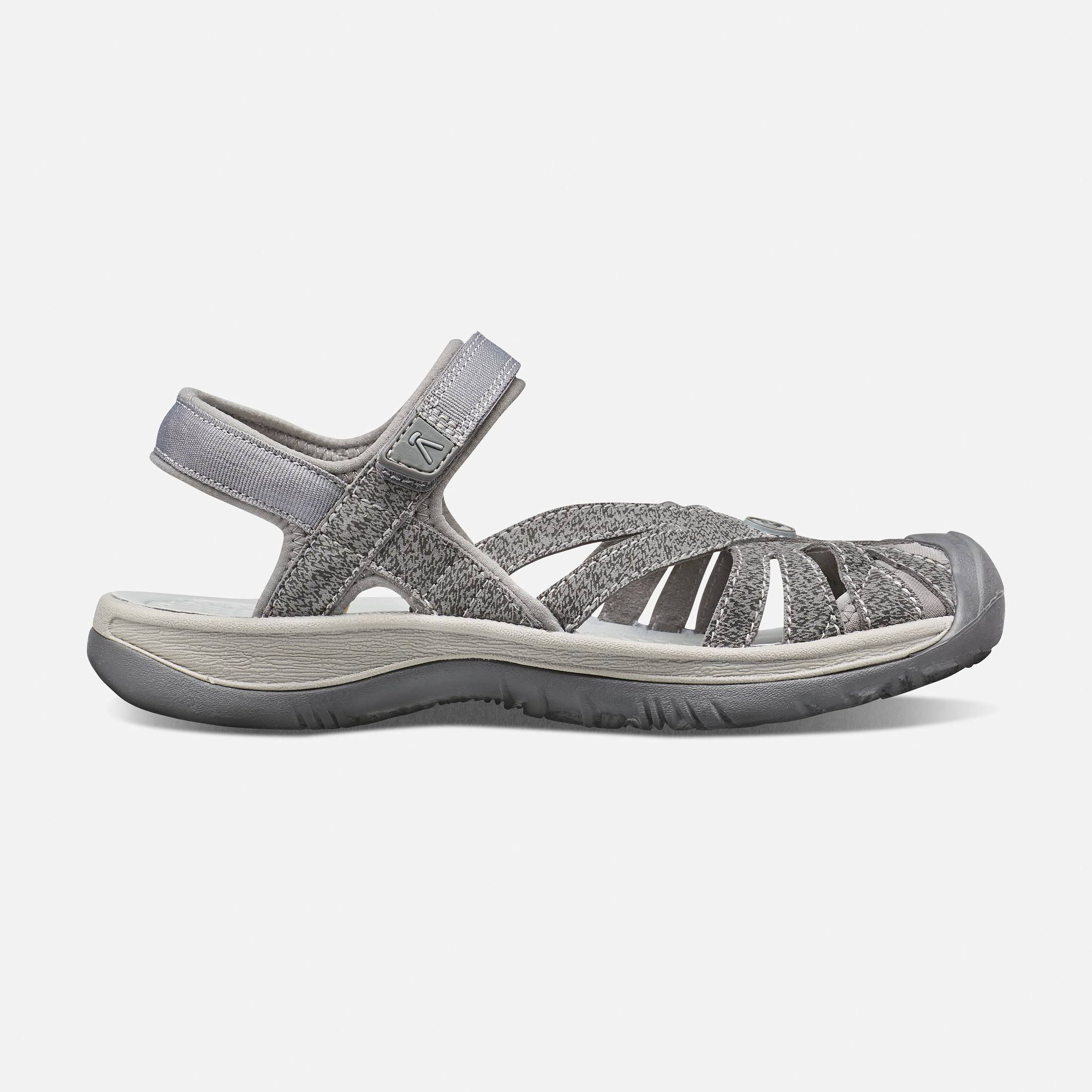 Keen Womens Rose Sandals - Gargoyle/Raven, 8US