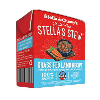 Stella & Chewy's 11 oz Grass Fed Lamb Recipe Dog Food