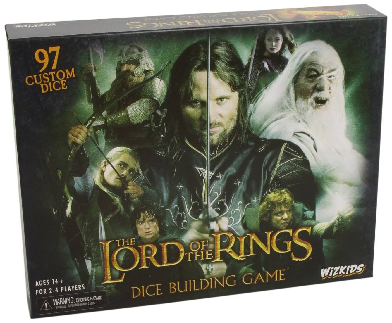 WizKids Games The Lord Of The Rings Dice Building Game