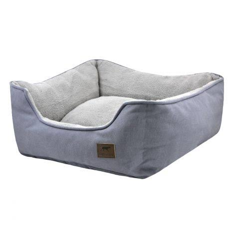Tall Tails Dream Chaser Bolster Bed Charcoal / Medium