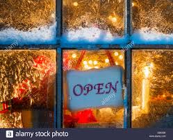 Christmas Tree Shop Avon Ma by Christmas Tree In Store Window Stock Photos U0026 Christmas Tree In