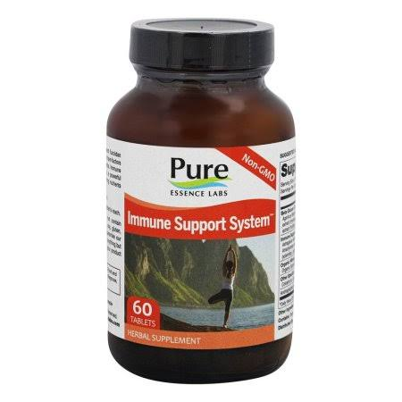 Pure Essence Labs Immune Support System Supplement - 60 Tablets