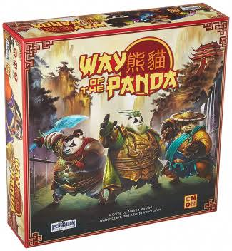 CMON Way of The Panda Board Game