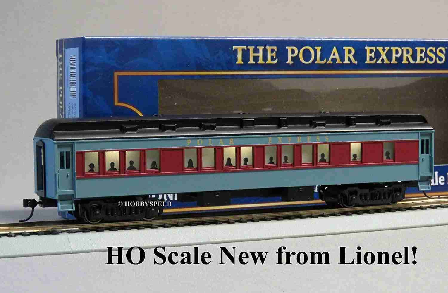 Lionel HO Scale Polar Express Coach Car Passenger