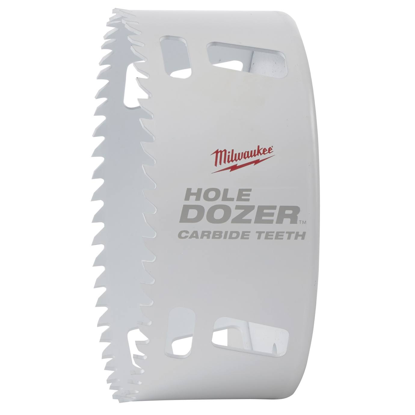 Milwaukee 49560744 Hole Dozer Carbide Hole Saw - White, 4 1/4""