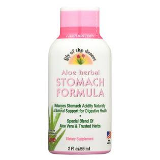 Lily Of The Desert Stomach Formula, Aloe Herbal - 2 fl oz