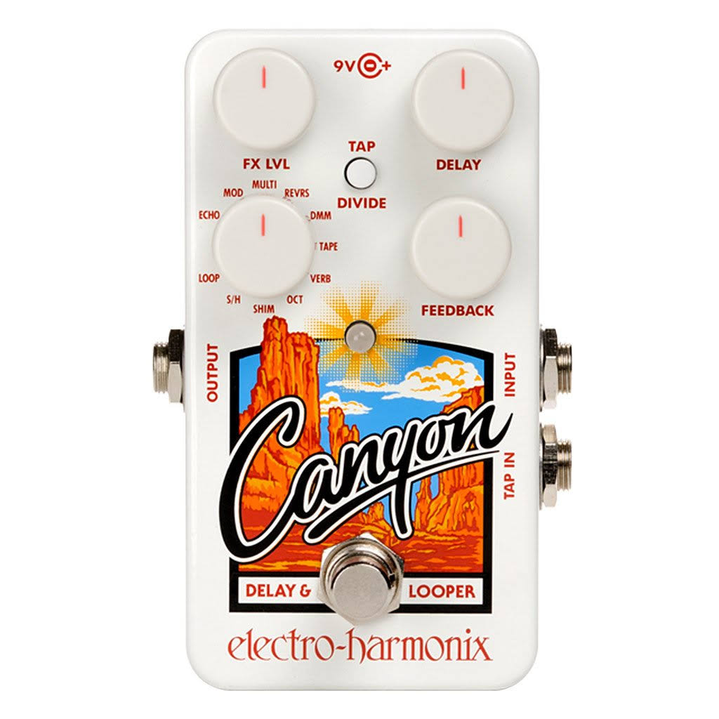 Electro Harmonix Canyon Delay and Looper Pedal