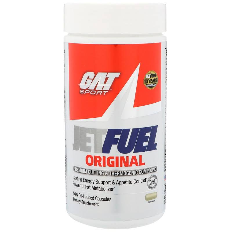 GAT Jetfuel Fat Metabolizer - 144 Oil-Infused Capsules