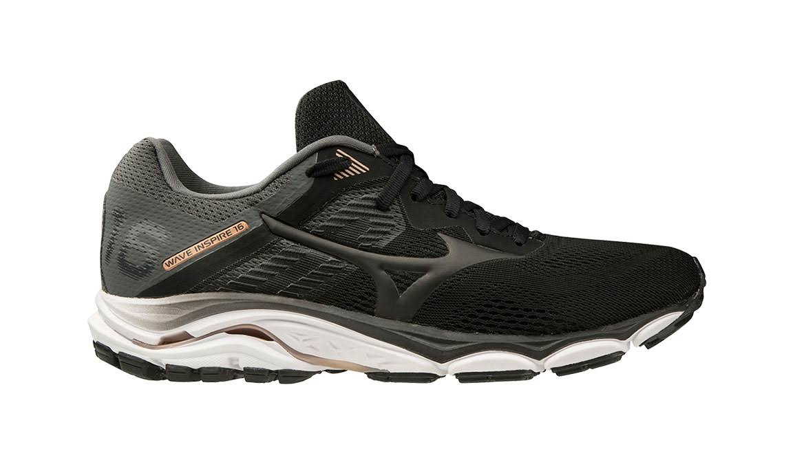 Mizuno Men's Wave Inspire 16 Black / 10.5