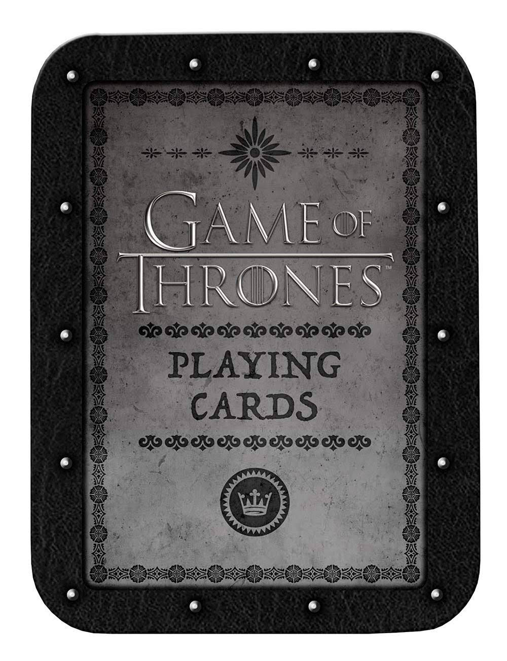 Usaopoly Game of Thrones Playing Cards