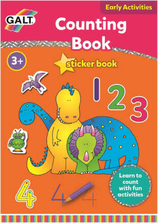Galt Counting Sticker Book